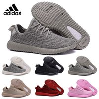 Cheap Adidas Originals 2016 Kanye Milan West Yeezy Boost 350 Moonrock Oxford Tan Pirate Black Turtle dove Trainers Sports Running Shoes With Box