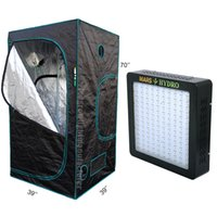 Wholesale Marshydro Mars II led grow light and D Grow Tent x3 x5 with indoor grow hydroponics system