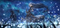 art profile - A443 Valkyrie Profile Japan Animation Art Silk Poster x36inch