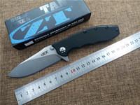 bear pocket knife - folding knife new ZERO TOLERANCE Double bearing pocket knife D2 blade utility outdoor camping knife