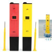 Wholesale Aquarium Pool Water Measure Monitor Pocket Digital PH Tester Meter Pen Type E00286 BAR