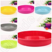 Wholesale 300PCS MMA37 Round Silicone Pizza Pan for Baking Wedding Cake Pizza Pie Bread Loaf for Microwave Oven