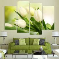 Wholesale Fashion City Night Panels Set Large HD Picture Canvas Print Painting Artwork Wall Decorative Oil painting Unframe h