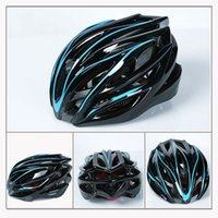 Wholesale New Ultralight EPS Air Vents Bicycle Helmet Cycling Integrally molded Helmet Mountain Bike Helmets Bicycle Accessories