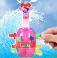 Wholesale Novelty Kids Children Funny Lucky Game Gadget Jokes Tricky Pirate Barrel Game New Hot Sale