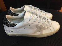 Wholesale Golden Goose Women Men Shoes breathable Genuine Leather Ggdb Casual Shoes Argento Femme El Ganso Sapato