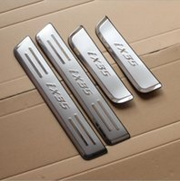 Wholesale 4 Hyundai IX35 stainless steel article threshold Hyundai IX35 greeter pedal IX35 pedal IX35 car modified stickers