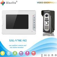 Wholesale Free DHL XSL V70E M2 V1 XINSILU Manufacturer Home Security System Smart Video Door Phone Waterproof Intercom System