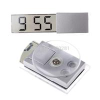Wholesale Digital Watch for Car Dashboard Windshield Electronic Mini LCD Display Digital Auto Clock Sucker Digital Car Electronic Clock