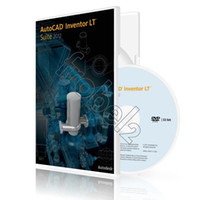 autocad inventor - 2012 AutoCAD Inventor LT English Language software bit and bit for win OS Plastic color box packaging free