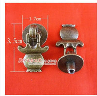 antique hand lantern - B115 antique Chinese furniture hardware lantern in hand drawer cabinet door handle single hole round handle