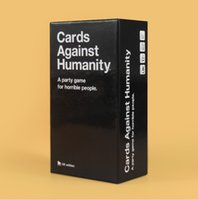 Wholesale Immediate Delivery Against Humanity Cards UK Basic Edition Cards educational toys Against Game CC