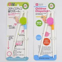 Wholesale Children Chopsticks Gift Cartoon Style Kids Children Learning Training Chopsticks exercise Early Education Beginner Training baby chopsticks