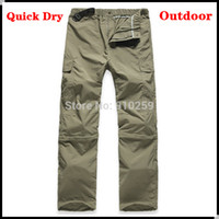 Wholesale Hiking Outdoors Military Cargo Army Pants Camouflage Tactical Quick Dry Climbing Men Bicycle Fishing Waterproof Soprt Trousers