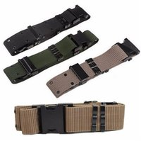 active survival - Adjustable Survival Tactical Belt Emergency Rescue Rigger Mountaineering outdoor sports wild belt B287