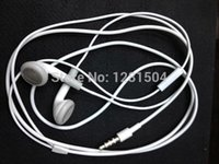 Wholesale White Earphone with Mic For apple iPhone plus S C S GS best quality for you