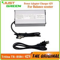 Wholesale Tritina TR BS84 US UK EU Power Adapter Charger V A W Output for Self Scooter Electric Balance Scooter Drifting Board