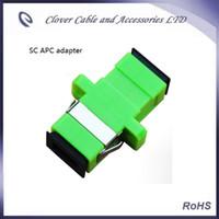 apc adapter - Good Quality and RoHS Compliant SC APC fiber optic adapter for CATV convert