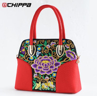 Wholesale Women s bags autumn and winter fashion trend national embroidery flower female shoulder bag messenger bag handbag women s