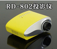 Wholesale pico projector Mini Projector RD with VGA HDMI TV interface Best selling mini projector