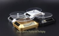 Wholesale Solar Rotation Jewelry Display Stand Bracelet Watch Ring Earring Necklace Showing Props Holder Solar Powered Turntable Rotary