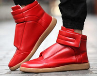 Cheap spring 2016 New Luxury brand men Maison martin margiela boots shoes men sneakers high top shoes MMM Shoes mens shoes M3