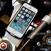 aluminum motorcycle cases - DUCATI Ventare CLEAVE Motorcycle Racing Aviation Metal Aluminum Bumper frame phone Case bumper for iPhone S S plus Plus