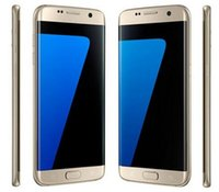 bars network - S7 Edge phone Goophone S7 MTK6580 Quad Core curved screen quot fake fingerprint G Network RAM G ROM GB cell phones vs real G Note5
