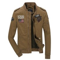 airborne coats - MA1 Army Air Force Pilot Tactical Jacket Military Airborne Flight Bomber Jacket Men Winter Warm Outdoor Motorcycle Sport Coat