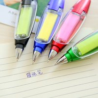 Wholesale Multifunctional office stationery stickers creative lanyard LED pen pen prize for students customized