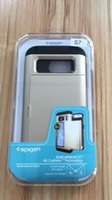 armor inserts - For Spigen Packing Shockproof Armor Soft TPU And PC in Can Insert Card Plastic Mobile Phone Cases