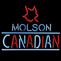 Wholesale Beer DIY LED Neon Sign Glass Flex Rope Light Indoor Outdoor Decoration for Molson Canadian RGB Voltage V V