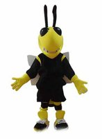 athletic photos - 100 real photos yellow Bee Mascot costume adult animal Mascot suit fur mascotte party costumes Grape
