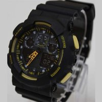 Wholesale Fashion Sports Watches Waterproof Digital Watches with Auto Date New Brand Solid Watches with Multi Colors G003