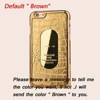 crocodile skin - Luxury Crocodile skin leather Cover Hard Case For iPhone S S Plus Samsung Galaxy S6 S7 Edge S5 Note