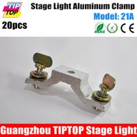 Wholesale TIPTOP Freeshipping A Aluminum Allay Hook Led Moving Head Light Mounting Clamp Pitch mm Load kg DJ Disco Stage Theatrer