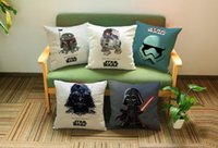 Wholesale Pretty baby Star Wars healthy pillow model soft bolster For beach cushion JZ7