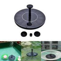 Wholesale solar Water Pump Power Panel Kit Fountain Pumps Pool Garden Pond Submersible Watering Display