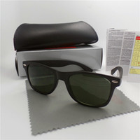 eye protection glasses - High quality Brand Designer Fashion Men Sunglasses UV Protection Beach Vintage Women Sun glasses Retro Eyewear With box and cases