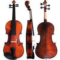 Wholesale Sales Beginner s Violin Real Wood The Violin High Quality Violin Rosin Case Bow Shoulder
