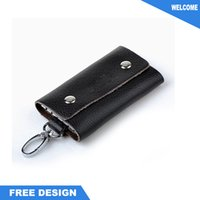 Wholesale Hot Sale color card case keychain for gift
