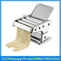 Wholesale Manual press noodle machine with stainless steel home use hand pasta noodles maker machine