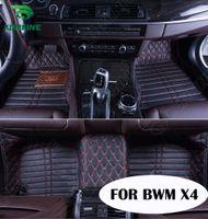 Wholesale Top Quality D car floor mat for BMW X4 foot mat car foot pad colors Left hand driver drop shipping KF A2103