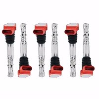 Wholesale Ignition Coils High Voltage Spark Nozzle For Audi A8 A6 A4 Quattro L V6 C L C905115L
