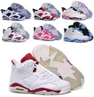 Wholesale Fashion China Jordan Basketball Shoes Low Women Men s Retro VI Real Replicas Man China Jordans Hombre Basket Sneakers
