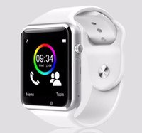 Wholesale DHL hot sell A1 Smart watch bluetooth digital sport Smartwatchfor IOS Android Samsung PK DZ09 GT08 DHL freeshipping