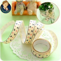 Wholesale Fan uncle Korean fashion cartoon tape new sweet and simple DIY cloth tape
