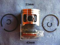 avs kit - Piston kit MM for Zenoah G4500 G451 G455 AVS Chainsaw replacement part P N