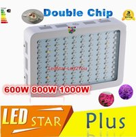 Wholesale Hot Sale W W W Double Chips LED Grow Lights Full Spectrum nm For Indoor Plants And Flower Phrase Very High Yield