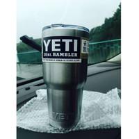Wholesale Hot Sale Rambler Tumbler oz YETI Cups Cars Beer Mug Large Capacity Mug Tumblerful